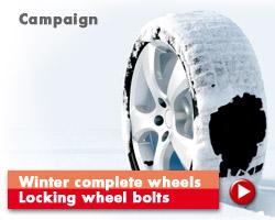 Winter complete wheels