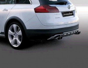 SUV Heckunterfahrschutz (auch ab Facelift)