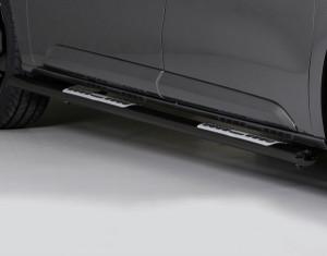 Trittrohrsatz - oval schwarz