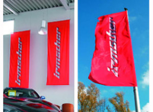 Hissflagge für Fahnenmast