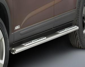 Side steps oval KIA Sorento XM facelift