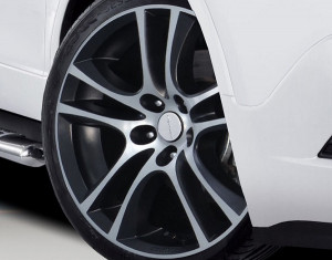 Wheel kit Aero Star exclusive design (19 inch) incl. TPMS with summer tire