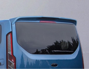 Roof spoiler with tailgate