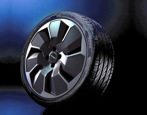 Wheel kit in Cosmo Star exclusiv design (19 inch) with winter tire
