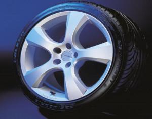Wheel kit in Evo Star design (20 inch) with summer tire