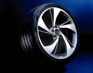 Summer complete wheel set Heli-Star exclusive design (20 inch)