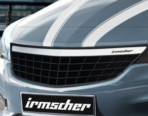 Radiator grille (stainless-steel)