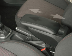 Armrest for Combo (exclusive) electric handbrake