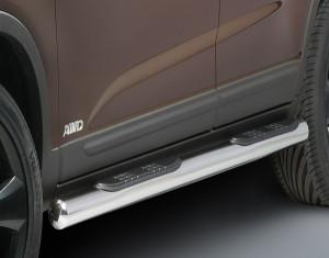 Side steps round KIA Sorento XM facelift