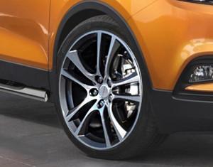 Wheel kit in Aero Star design (19 inch) with summer tire