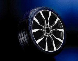 Wheel kit High Star exclusive design (19 inch) incl. TPMS with summer tire