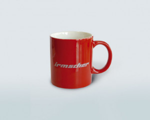Irmscher cup (red, delivery time: approx. 1 week)