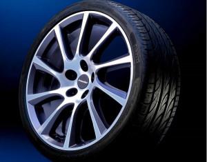 Wheel kit Turbo Star design (17 inch) with winter tire
