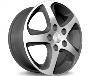 Light alloy wheel set Wave star design exclusive (17 inch)