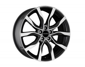 Light alloy wheels kit in High Star design (19 inch)