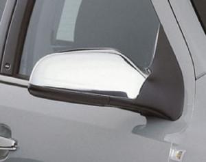 Carcasas cromadas para los espejos retrovisores