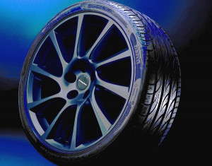 Wheel kit in Turbo Star design (18 inch) with summer tire