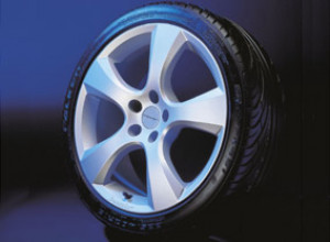 Wheel kit in Evo Star design (18 inch) with summer tire