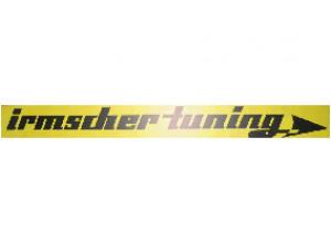 Irmscher Tuning Sticker (yellow)