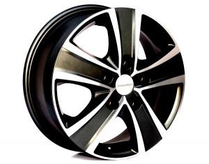 Rines de aluminio en el diseño Nova negro exclusivo en 16 pulgadas