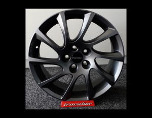 LM-Felgen-Satz Turbo-Star Black Design 17''