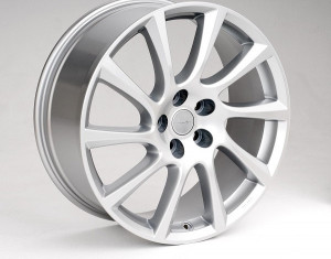 Light alloy wheels kit in Turbo Star design (17 inch)