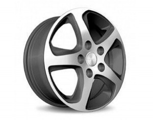 Wheel kit in Wave Star design (17 inch) with winter tire
