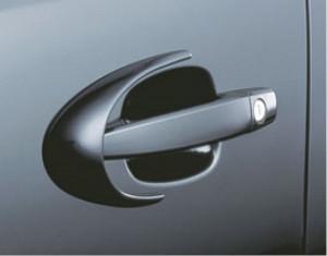 Door handle spoiler