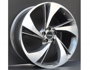 Light alloy wheels kit in Heli Star design (20 inch)