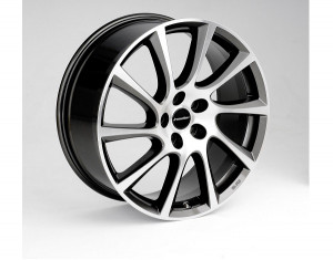 Light alloy wheels kit in Turbo Star design (20 inch)