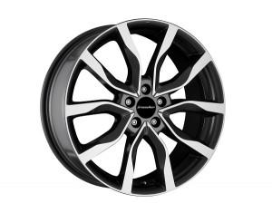 Light alloy wheels kit in High Star design (19 inch)