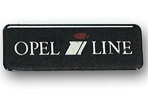 OPEL i LINE Logo für Zierleiste