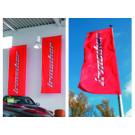 Hissflagge für Fahnenmast mit Ausleger